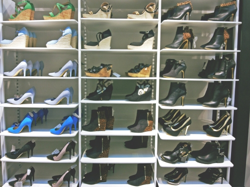 Nicosia Cyprus mall Suiteblanco shoes