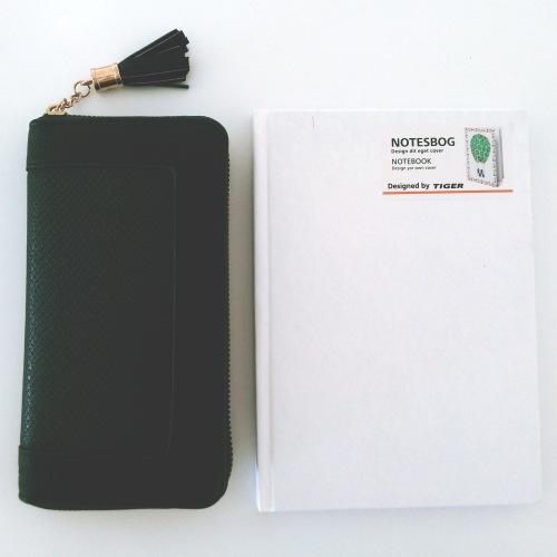 SUITEBLANCO wallet & TIGER notebook
