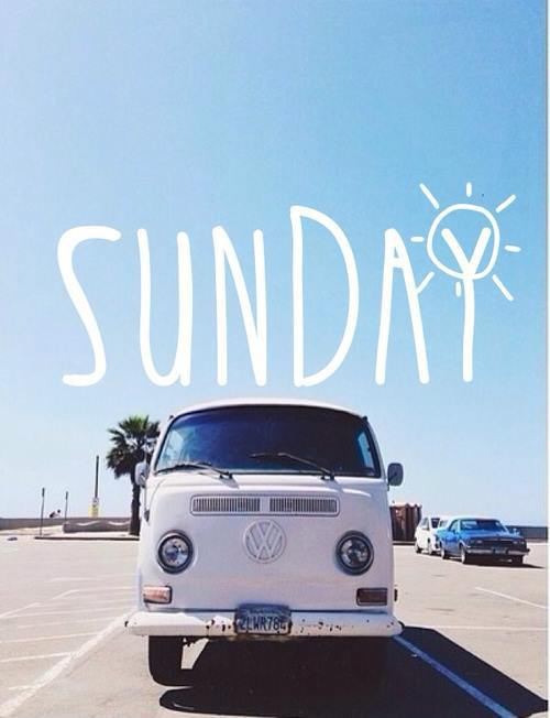 sunday W van