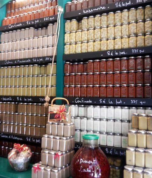 jams, confitures, south of france, food, market