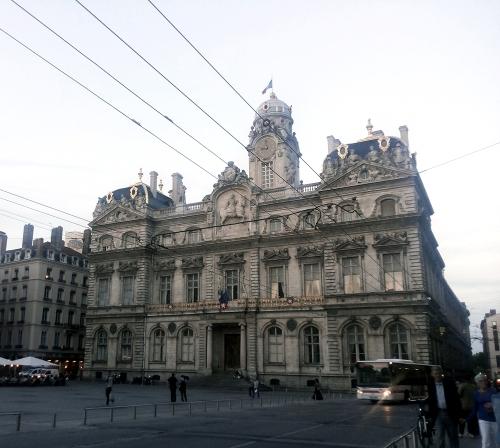 lyon hotel de ville, lyon town hall, france