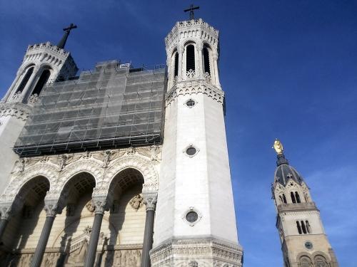 Lyon basilique de la fourviere, france