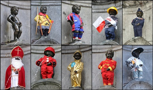 manneken pis, belgium, what to do in brussels, brussels