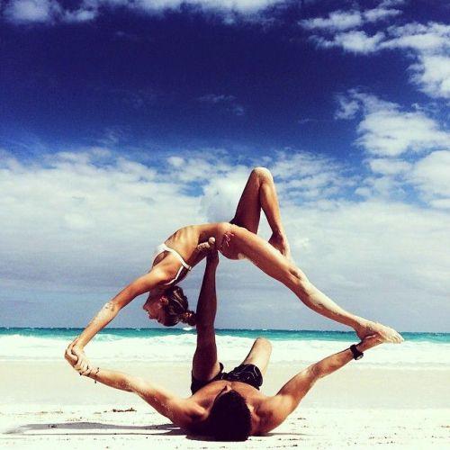 yoga on the beach, yoga, exercise